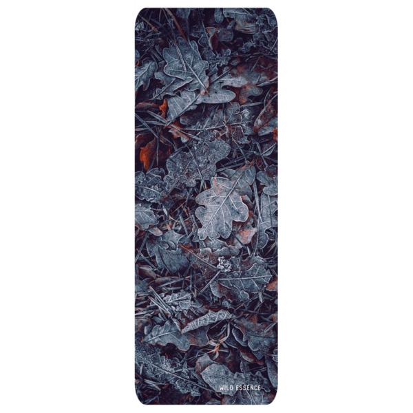 dark leaf yoga mat
