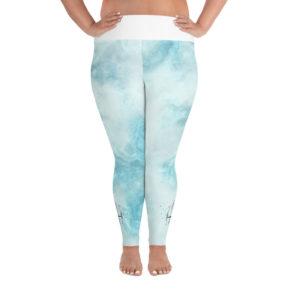 summer plus size leggings