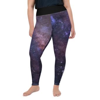 Starry Plus Size Yoga Pants