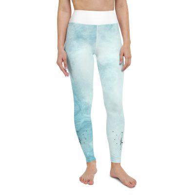 Bright Blue Yoga Leggings