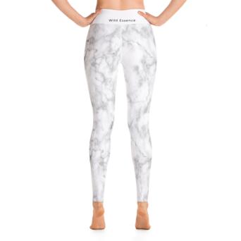 white marble yoga leggings