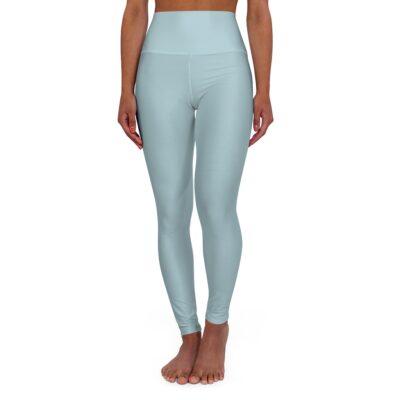 Dusky Blue Yoga Leggings
