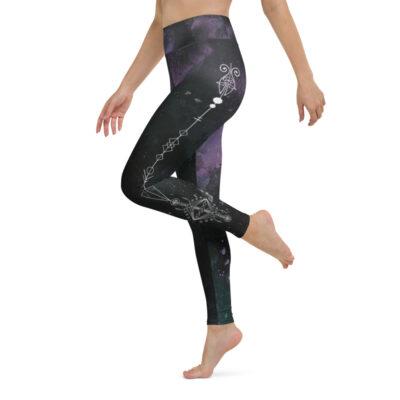 witchy yoga leggings